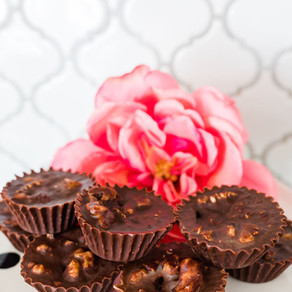 Dark Chocolate Walnut Bites