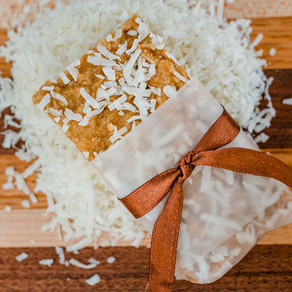 Coconut And Peanut Butter Power Bars