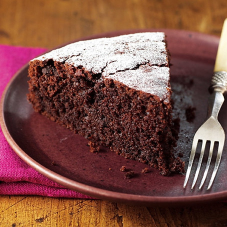 Inna's Beetroot & Cacao Cake