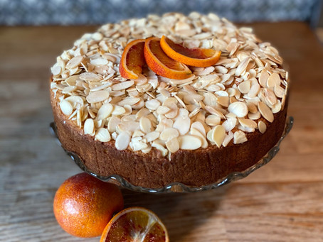 Alex's Blood Orange & Almond Cake