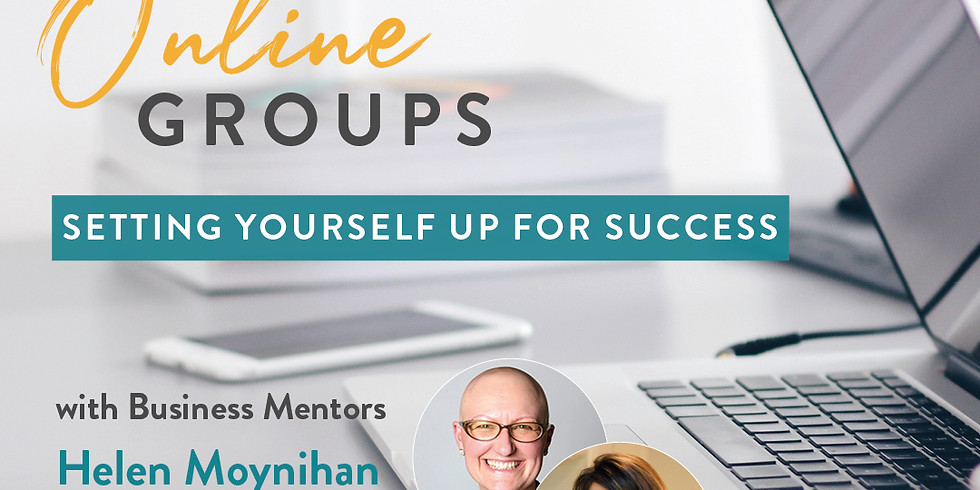 Running an online group programme:  How to set yourself up for success
