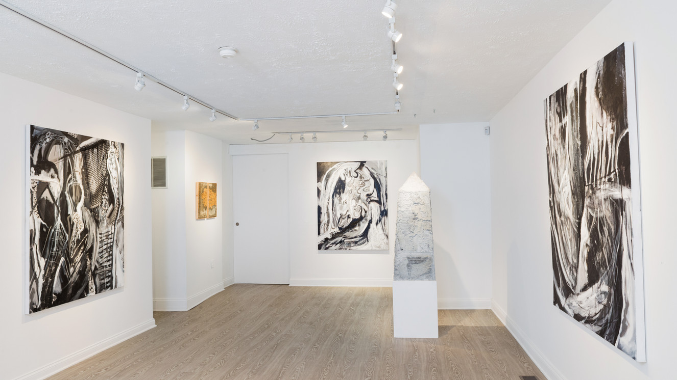 Installation view: I know where I've been, 2019 (Two-person exhibition at Catalyst Contemporary Gallery Batimore)