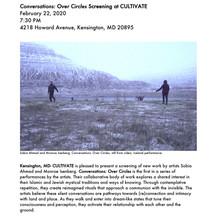 Conversations: Over Circles Screening at CULTIVATE Studios