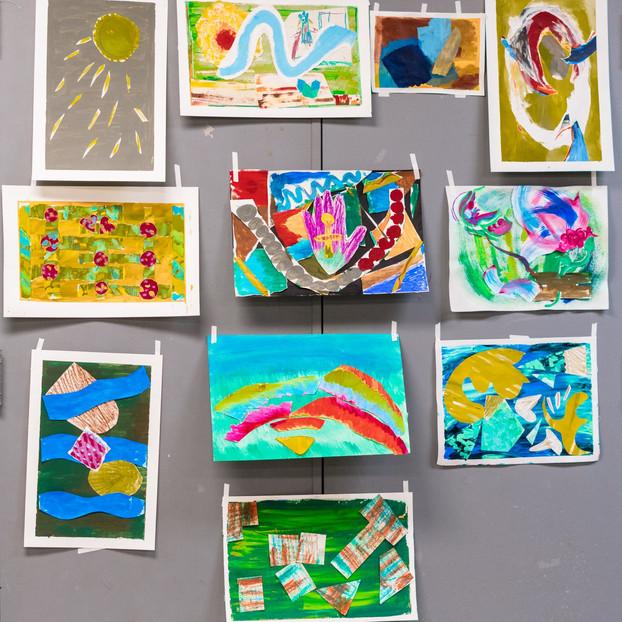 Art & Wellness participants' work