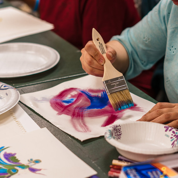Art & Wellness workshop with Domestic Violence Resource Project