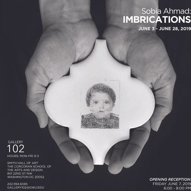 Solo exhibition: Imbrications