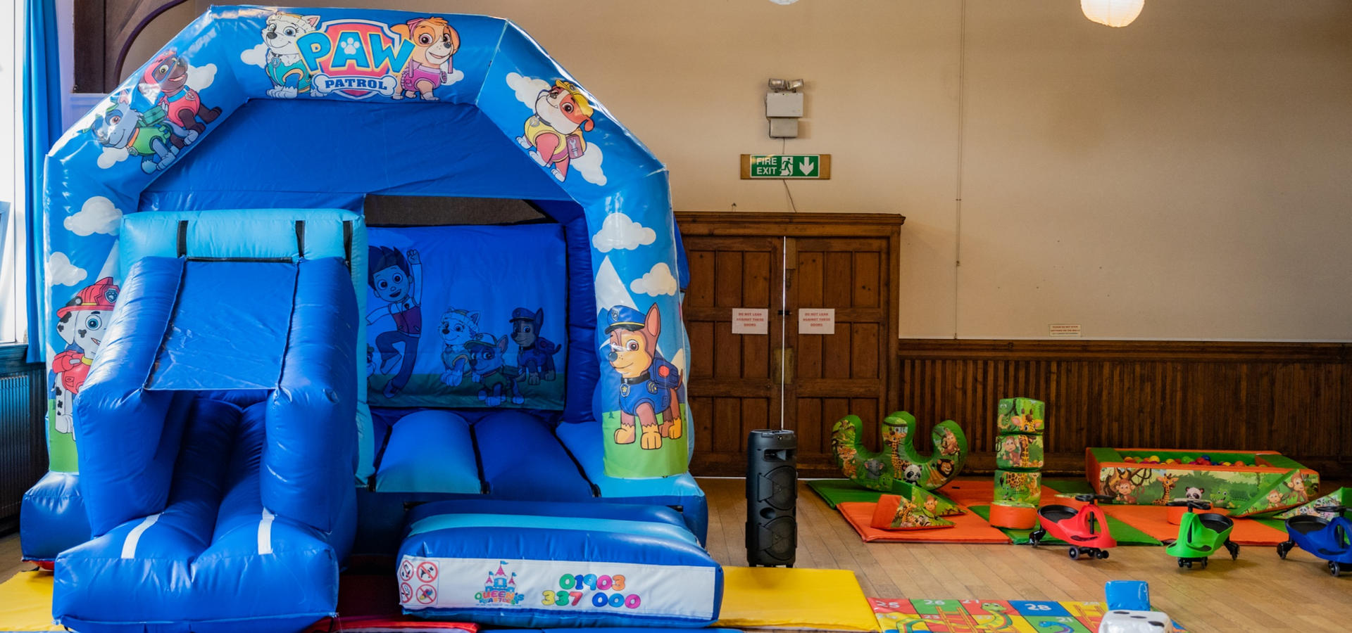 Slide combo and soft play - £105