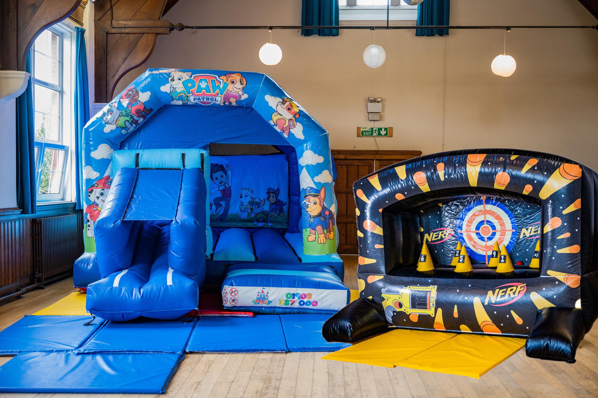 Slide Combo and Nerf shooter - £110