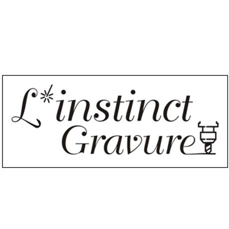 logo l'instinct gravure