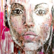 """""""Clara"""" acrylique sur toile"""
