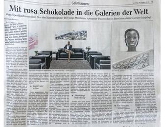Gelnhäuser neue Zeitung (GNZ) über Alexander Palacios