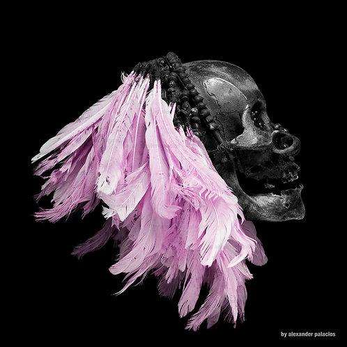 Flying Skull pink