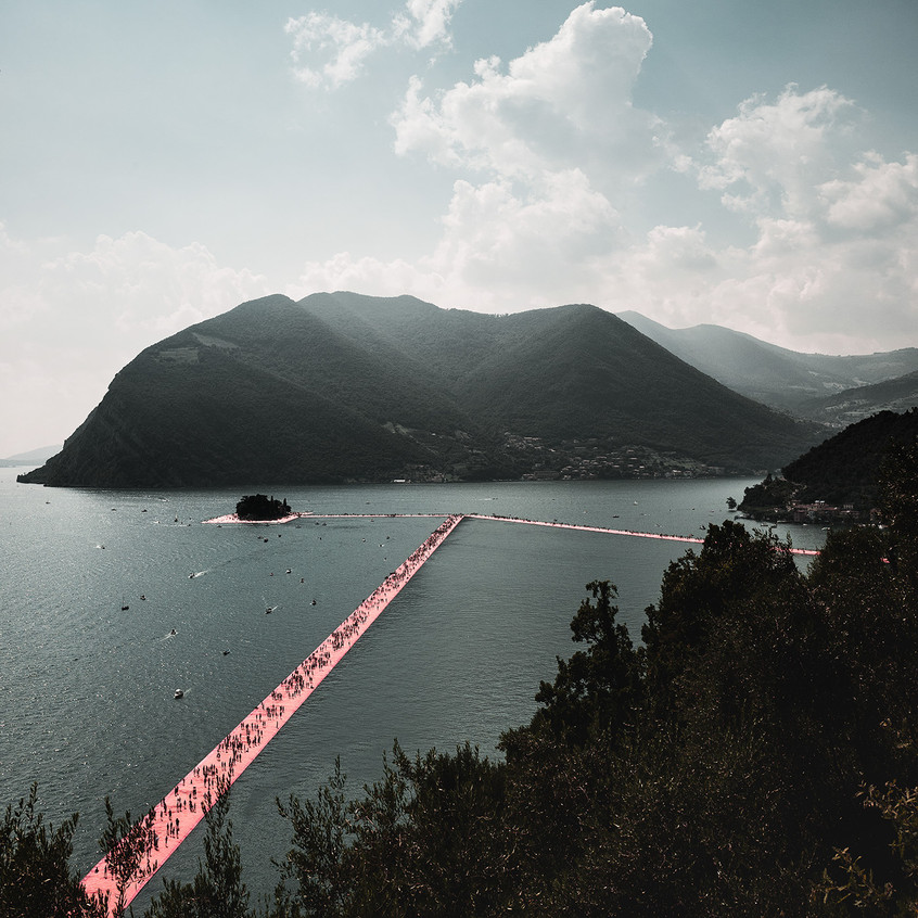 instagram christo alexander palacios floating piers pink iseo see L1110869