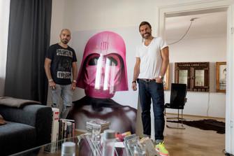 Mit Primecut Management und Kristoffer Holtermann in München...