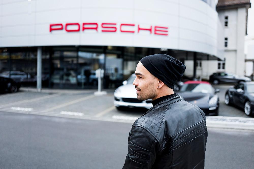 Porsche Zentrum Basel Alexander Palacios Vernissage