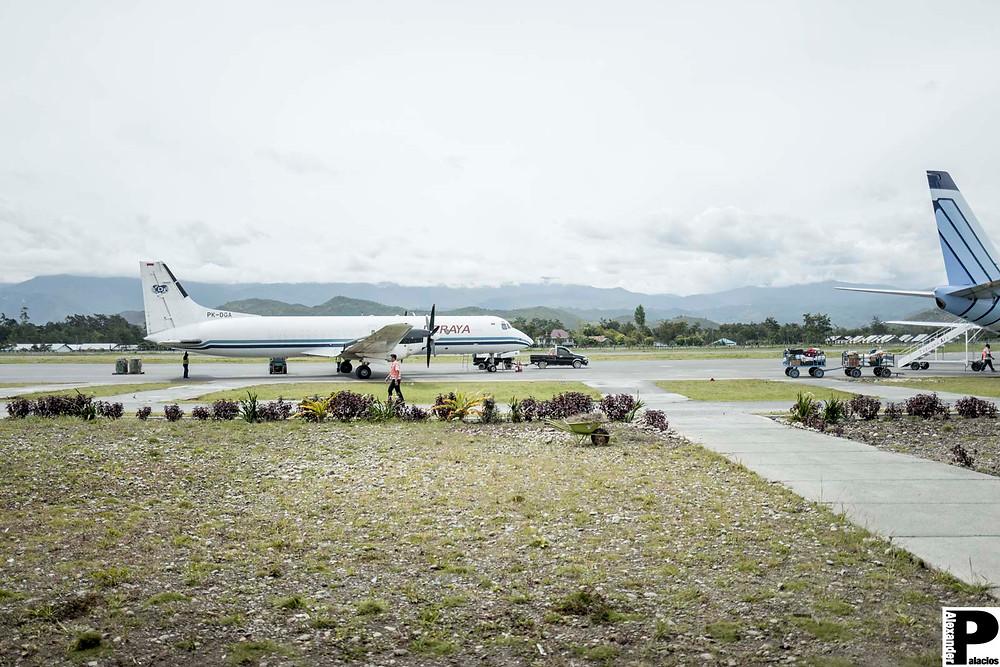 Flughafen in Wamena
