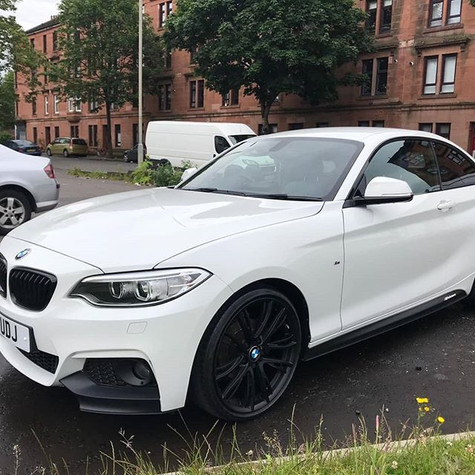 BMW 218 series after a Smart polish vale