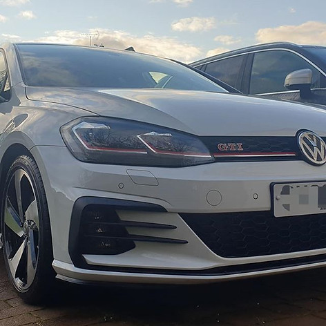 Dirty VW Golf GTI valeted today in Eagle