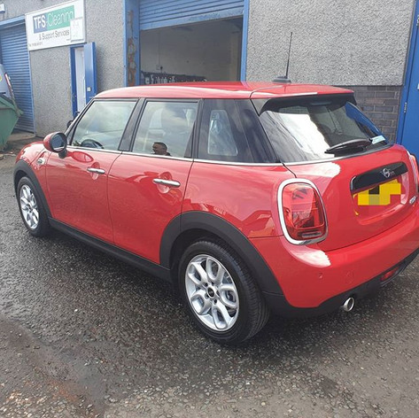 Lovely wee Mini Cooper in this week for