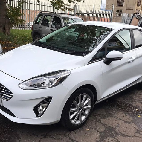 Ford Fiesta 19 plate after receiving our