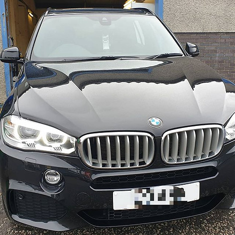BMW X5 after its Major correction detail