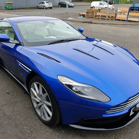 Aston Martin DB11 v12 in this week for a