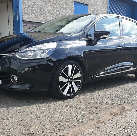 Renault Clio in for an enhancement and p