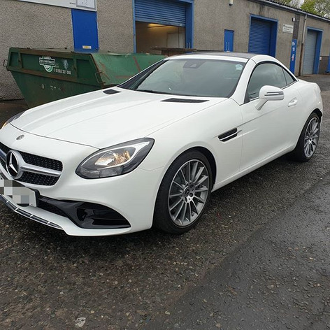 Nice wee Mercedes SLC 180 in this week f