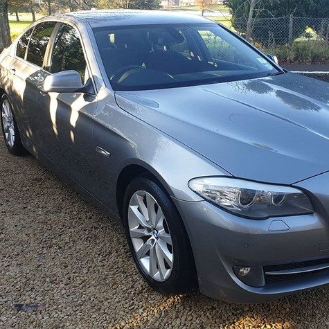 BMW 520d after a Superior valet to bring
