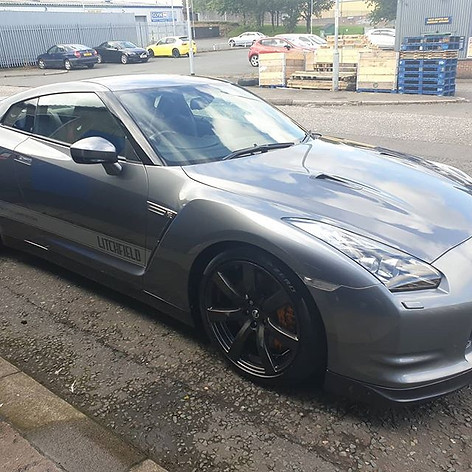 10 yr old Nissan GTR in for 3 days for m