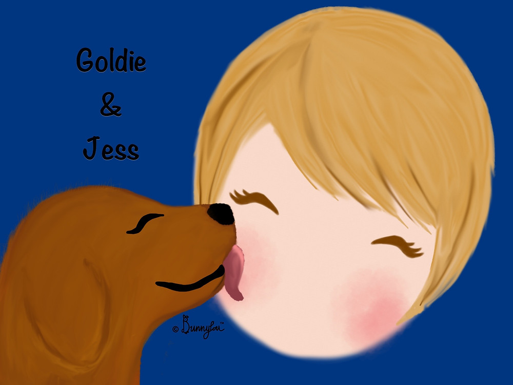 Goldie & Jess (requested by @Jessica_2532)