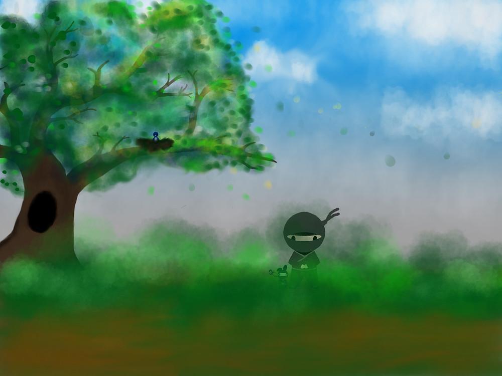 initial sketch_Ninjas of Lilac Mae