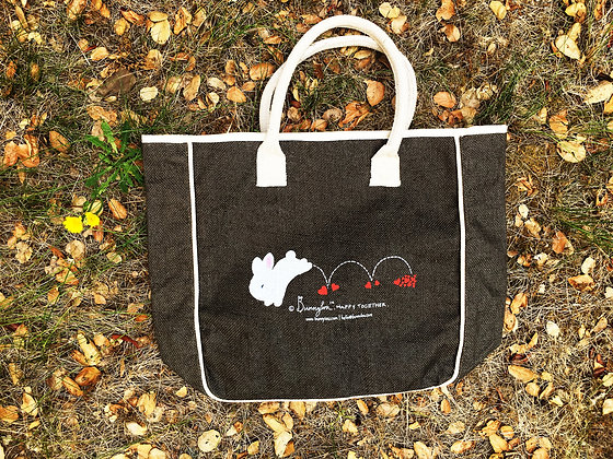 Bunnylou Jute Tote Bag