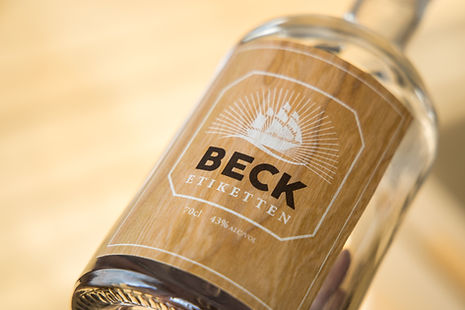 Gin Etiketten | Spirituosen Etiketten | Holz-Etiketten