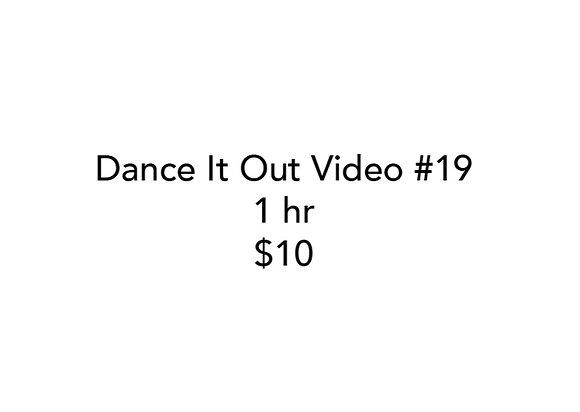 Dance It Out Online Class #19