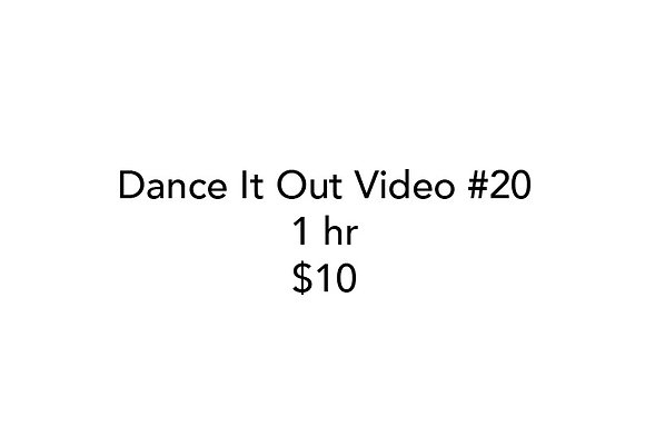 Dance It Out Online Video Class #20