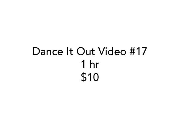 Dance It Out Online Video Class #17 (Recorded while live on FB)