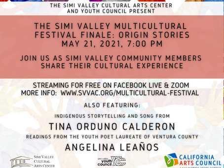 Tune Into the Simi Valley Multicultural Festival Finale: Origin Stories on May 21