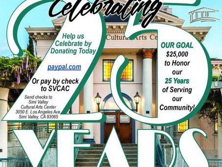 Support The Simi Valley Cultural Arts Center For Giving Tuesday 2020