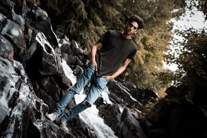 Alex on the Falls