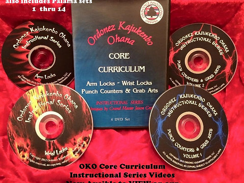 OKO Core Curriculum Instructional Series Videos (no more DVD's)