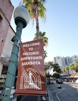 Downtown Sarasota banner