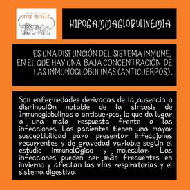 hipogammaglobulinemia