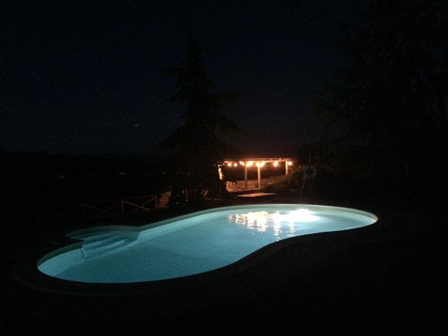 Pool & BBQ area by night.JPG