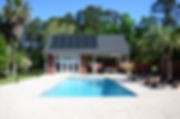 Cabana Pool House Tallahassee Florida