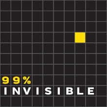 99% invisible podcast logo