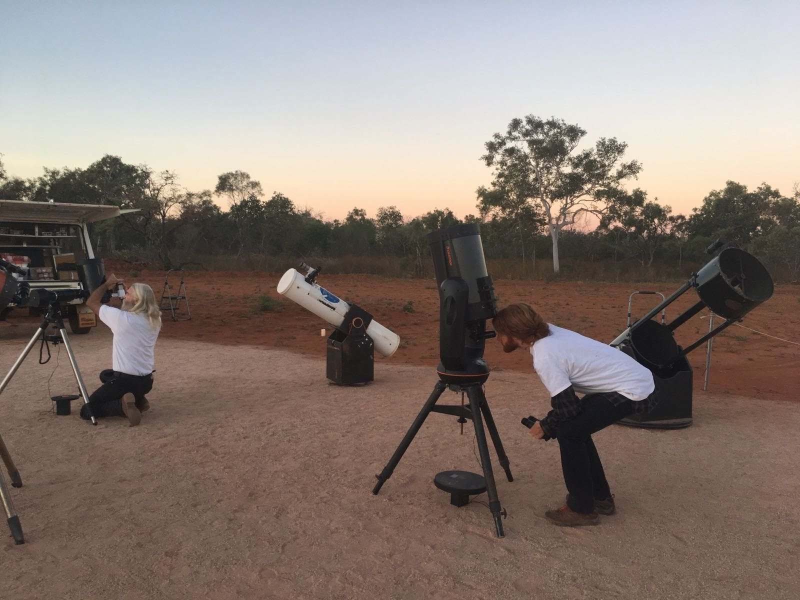 Working at AstroTours Broome