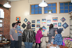 art show at the market