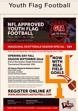 Free Flag Football!