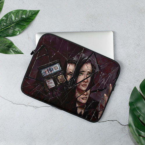 Laptop Sleeve: Winters Fall Cover